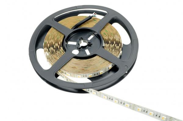 LED-Lichtband DC 360 Lumen WW Lumen 120° RGB/warmweiss 90W RGBW - 4er Chip Green-Power-LED