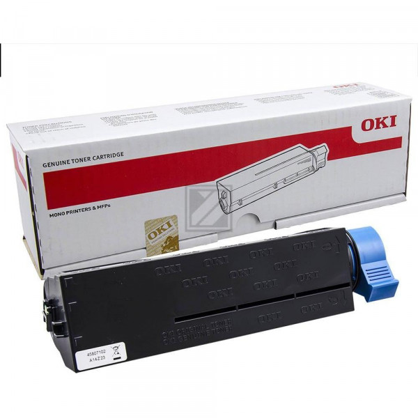 OKI Toner-Kit schwarz (45807102)