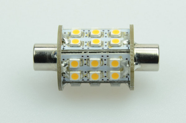 S8x42 LED-Soffitte AC/DC 180 Lumen 270° warmweiss 1,8W Green-Power-LED