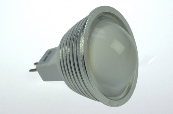 GU5.3 LED-Spot PAR16 AC/DC 270 Lumen 60° warmweiss 4,8W dimmbar Green-Power-LED