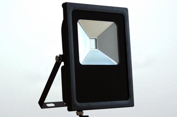 LED-Flutlichtstrahler AC 120° RGB 30W Funk Green-Power-LED
