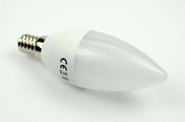 E14 LED-Kerze AC/DC 470 Lumen 180° kaltweiss 4,5 W 24 Stundenbetrieb Green-Power-LED