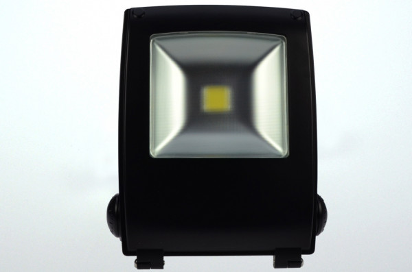 LED-Flutlichtstrahler AC 4250 Lumen 120°-150° warmweiss 50W Strukturiertes Glas Green-Power-LED