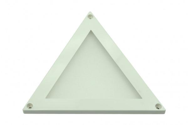LED-Panel DC 100 Lumen 100° warmweiss 2W Dreieck Green-Power-LED