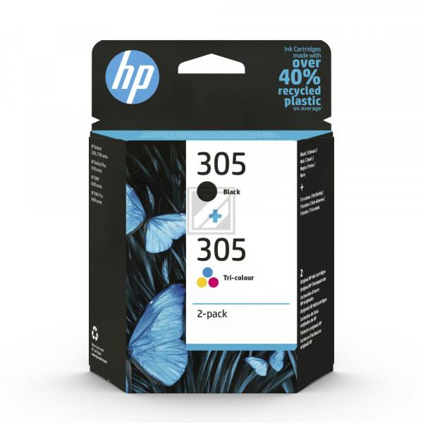 HP Tintenpatrone 305 BK/color 6ZD17AE DeskJet 2300/2700 2-Pack