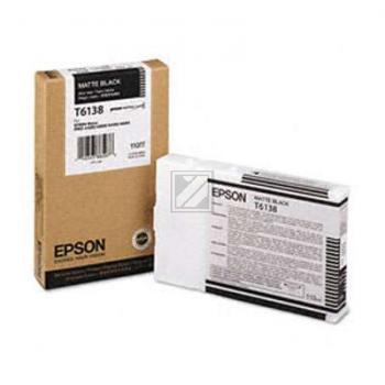 Epson Tintenpatrone Ultra Chrome K3 schwarz matt (C13T613800, T6138)