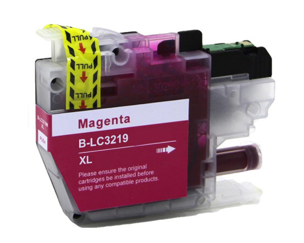 Brother LC-3219XLM kompatible Tinte Magenta (Rot) 18 Ml.