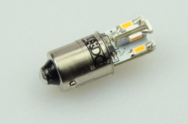 BA9S LED-Bajonettsockellampe DC 70 Lumen 300° kaltweiss 0,6W kleine Bauform Green-Power-LED
