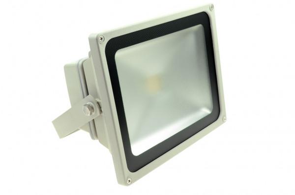LED-Flutlichtstrahler AC/DC 2600 Lumen 130° warmweiss 35W Green-Power-LED