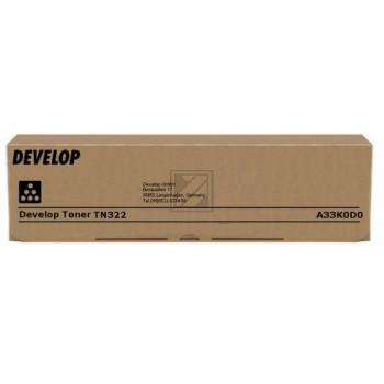 Develop Toner-Kit schwarz (A33K0D0, TN-322)