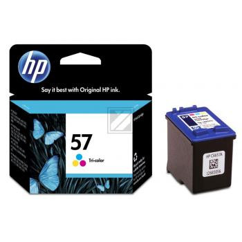 HP Tintendruckkopf cyan/gelb/magenta HC (C6657AE#UUS, 57)