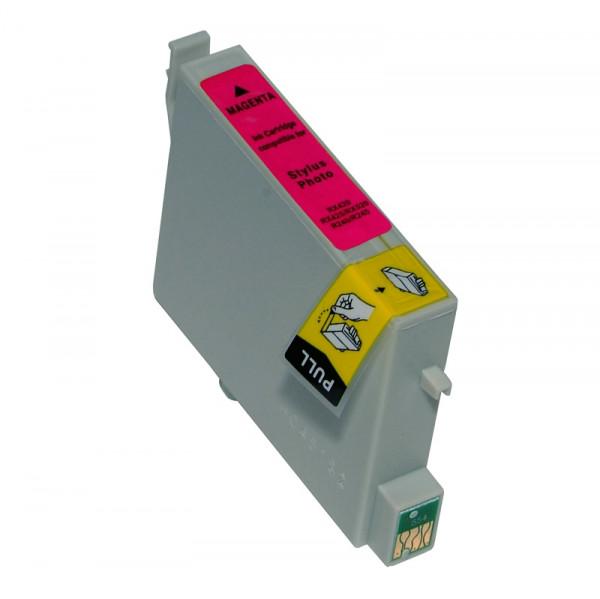 Epson T0806 kompatible Tinte Light-Magenta (Hellrot) 13,5 Ml.