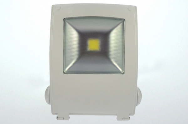 LED-Flutlichtstrahler AC 4250 Lumen 120°-150° warmweiss 50W Strukturiertes Glas Green-Power-LED