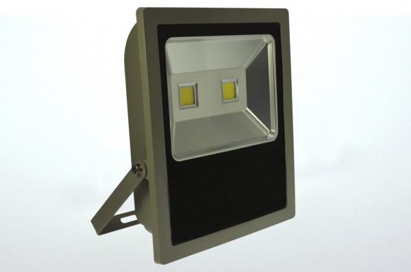 LED-Flutlichtstrahler AC/DC 8500 Lumen 120° kaltweiss 100W flache Bauweise Green-Power-LED