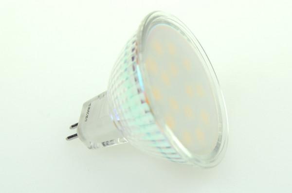 GU5.3 LED-Spot PAR16 AC/DC 240 Lumen 125° warmweiss 2,6W dimmbar Green-Power-LED