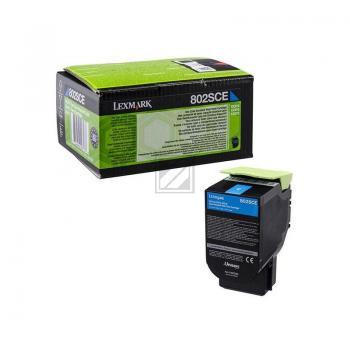 Lexmark Toner-Kit Corporate cyan HC (80C2SCE, 802SCE)