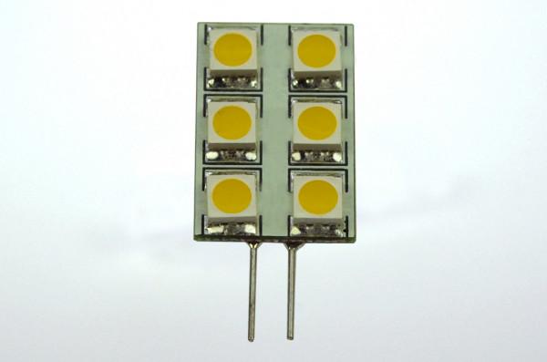 G4 LED-Modul AC/DC 100 Lumen 125° warmweiss 1W eckige Form Green-Power-LED