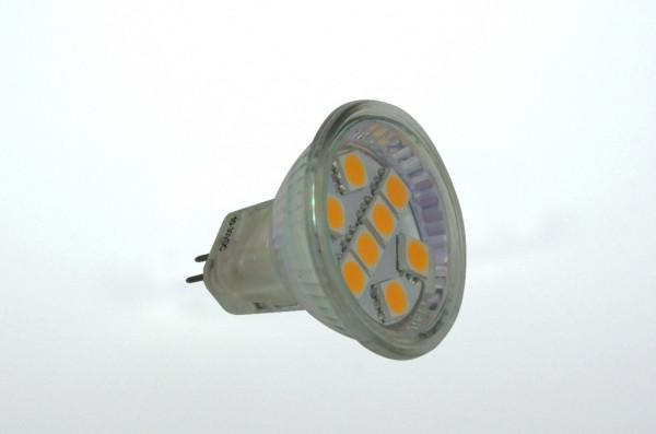 GU4 LED-Spot MR11 AC/DC 125 Lumen 125° warmweiss 1,3 W Green-Power-LED