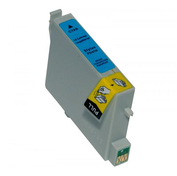 Epson T0802 kompatible Tinte Cyan (Blau) 13,5 Ml.
