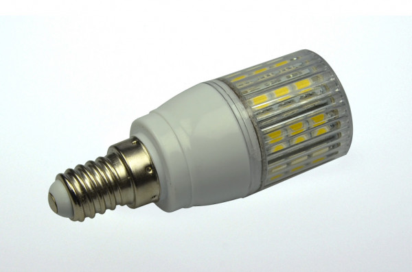 E14 LED-Tubular AC 340 Lumen 330° kaltweiss 3W gekapselt Green-Power-LED