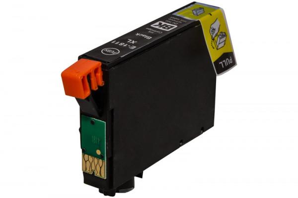 Epson T1811 kompatible Tinte Black (Schwarz) 18,2 Ml.
