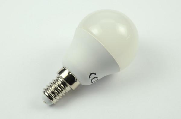 E14 LED-Globe G45 AC/DC 400 Lumen 180° kaltweiss 3,7W Green-Power-LED