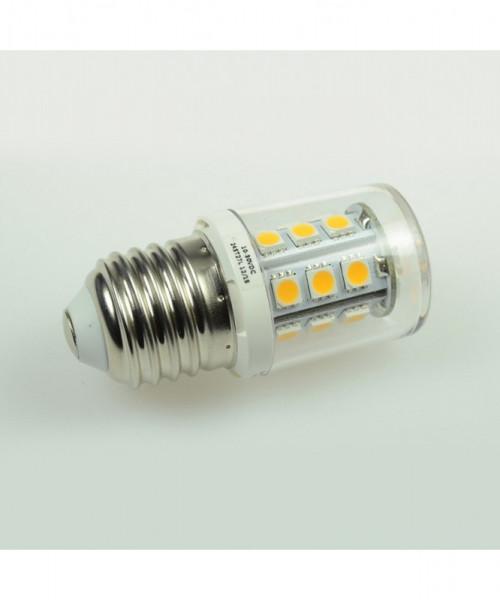 E27 LED-Tubular AC/DC 250 Lumen 300° kaltweiss 2 W dimmbar Green-Power-LED