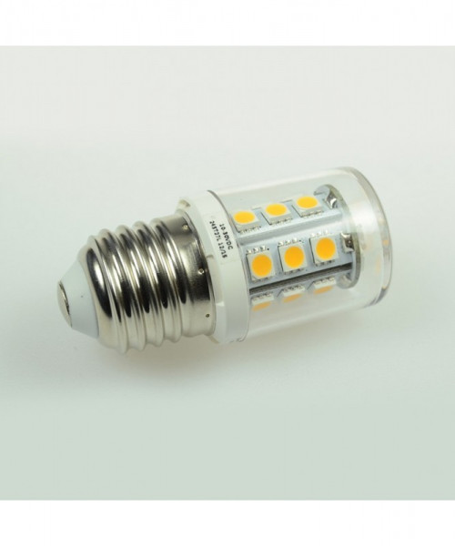 E27 LED-Tubular AC/DC 300 Lumen 300° warmweiss 2,6W dimmbar Green-Power-LED