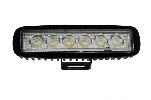 LED-Suchscheinwerfer DC 1000 Lumen 36° kaltweiss 14W IP67 Green-Power-LED