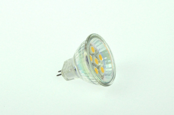 GU4 LED-Bajonettsockellampe AC/DC 100 Lumen 125° warmweiss 1W dimmbar Green-Power-LED