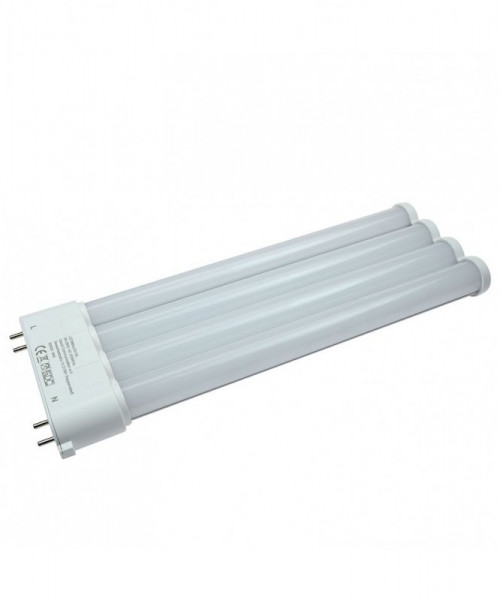 2G10 LED-Kompaktlampe AC 1800 Lumen 180° neutralweiss 18W internes Netzteil Green-Power-LED