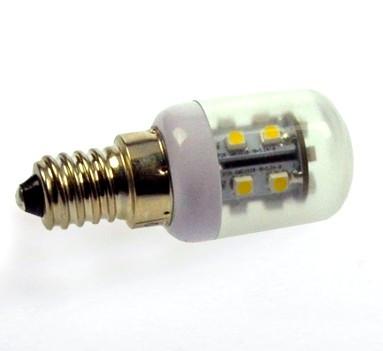 E14 LED-Tubular AC 70 Lumen 270° kaltweiss 1,2W Green-Power-LED