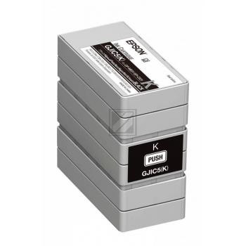 Epson Tintenpatrone schwarz (C13S020563, GJIC5(K))