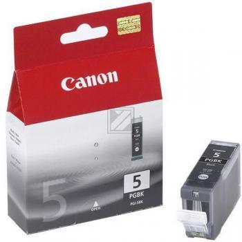 Canon Tintenpatrone schwarz (0628B001, PGI-5BK)