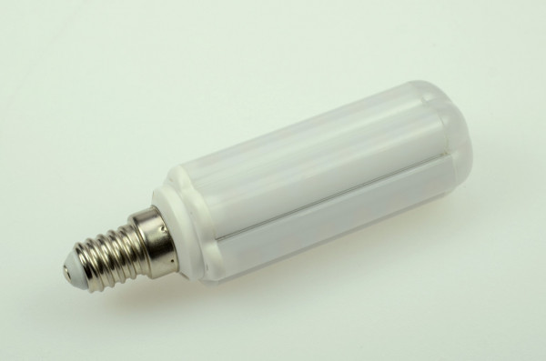 E14 LED-Tubular AC/DC 650 Lumen 360° neutralweiss 8 W Green-Power-LED