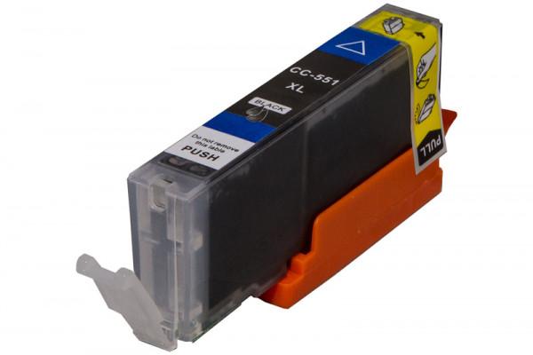 Canon CLI-551BKXL, Nr.551 kompatible Tinte Black (Schwarz) 11 Ml.