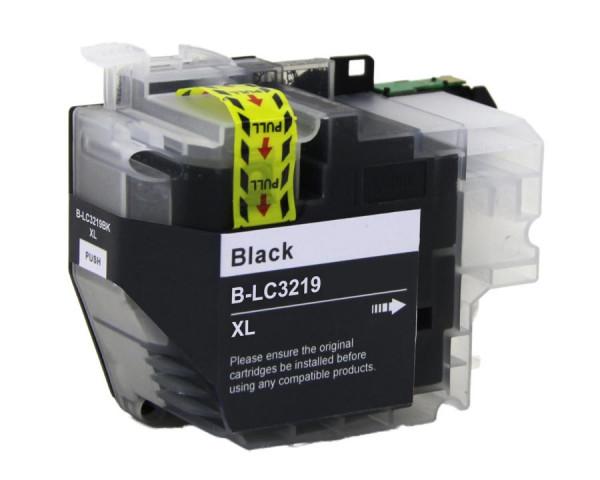 Brother LC-3219XLBK kompatible Tinte Black (Schwarz) 69 Ml.