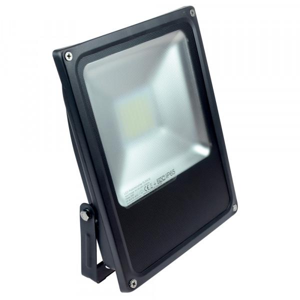 LED-Flutlichtstrahler AC 3200 Lumen 120° kaltweiss 35W flache Bauweise, Blendschutz Green-Power-LED