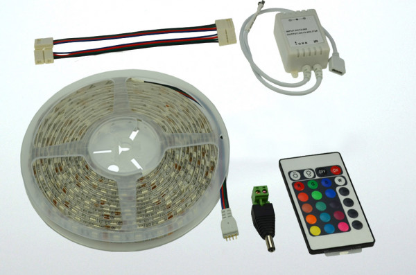 LED-Lichtband DC 160 Lumen 120° RGB 36W dimmbar Green-Power-LED