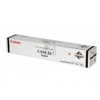 Canon Toner-Kit schwarz (2785B002, C-EXV33BK)
