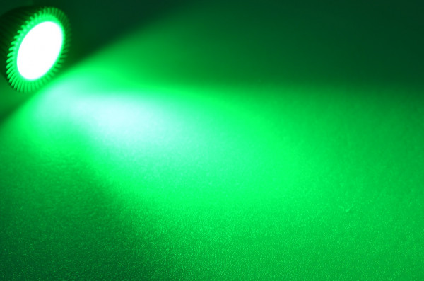 GU5.3 LED-Spot PAR16 DC 210 Lumen 30° Grün 3,4 W Green-Power-LED