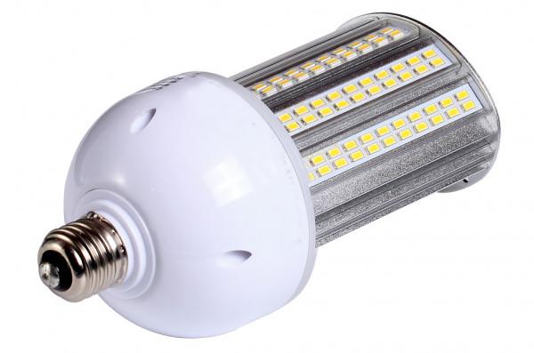 E27 LED-Strassenlampe AC 2800 Lumen 180° warmweiss 20W IP64, 4KV, inkl. Stütze Green-Power-LED