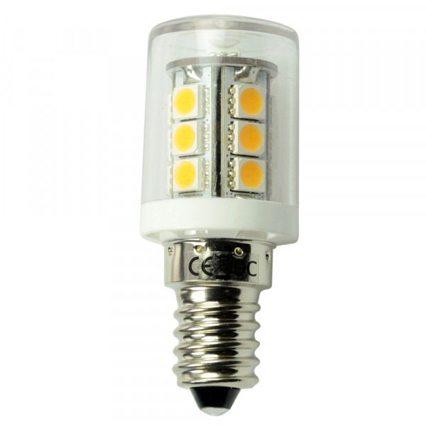 E14 LED-Stiftsockellampe AC/DC 252 Lumen 300° warmweiss 2,3W dimmbar Green-Power-LED