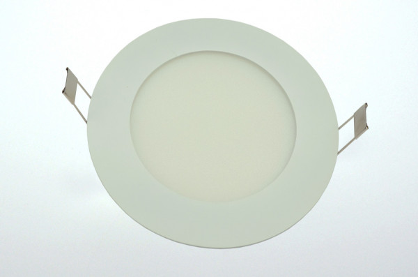 LED-Downlight AC 380 Lumen 125° neutralweiss 6W 20mm Einbautiefe Green-Power-LED