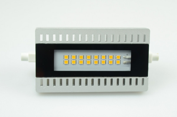 R7S LED-Stablampe AC/DC 900 Lumen 125° warmweiss 10W Green-Power-LED
