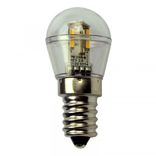 E14 LED-Miniglobe AC/DC 60 Lumen 360° warmweiss 0,7W dimmbar Green-Power-LED