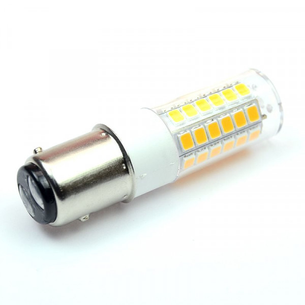BAY15D LED-Tubular AC/DC 380 Lumen 330° warmweiss 3,2 W Green-Power-LED