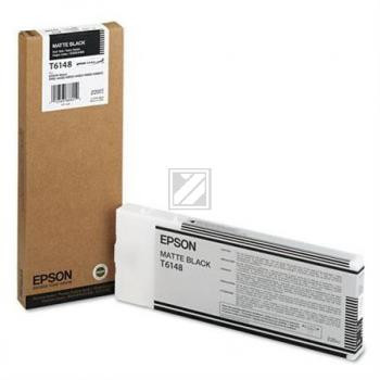 Epson Tintenpatrone schwarz matt HC (C13T614800, T6148)