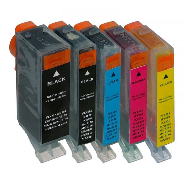 Tinten-Multipack ''S'' Canon PGI-525/CLI-526 kompatibel (1 Komplettsatz) 10% Rabatt