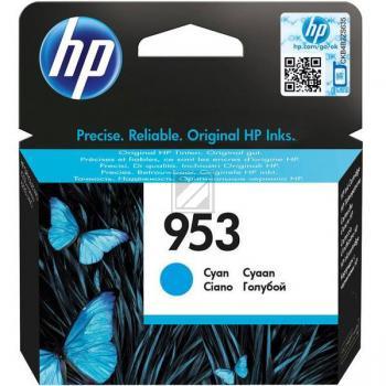 HP Tintenpatrone cyan (F6U12AE, 953)